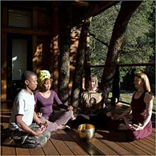 Yoga at Calistoga Ranch